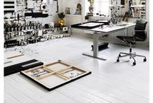art:mosphere / studio, decor, fancy, designer, office, workshop, workspace
