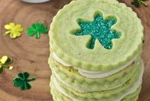 Saint Patrick's Day / Luck of the Irish St. Paddy's Day recipes, cocktail, desserts crafts, & party ideas all in one place! #Irish
