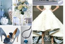 Something Blue- All Blue Weddings  / Something Old Something New Something Borrowed Something Blue! Pale Blue, Baby Blue, Ice Blue, Navy Blue, Royal, Sapphire Blue Wedding Inspirations!