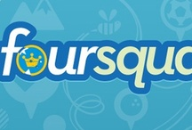 """Foursquare /  Un """"board'guide"""" proposant tout ce que vous devez connaître sur #foursquare-- A """"board'guide"""" for everything you need to know about #foursquare -- #socialmedia   #PierreCappelli / by Pierre Cappelli"""