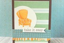 THEME: Father's Day Paper Crafts / Handmade cards and layouts and DIY gifts about Dads
