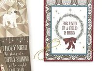 THEME: Christmas Paper Crafts / Christmas themed DIY decor, cards, gift wrap, layouts, and more.