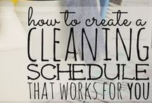 Organization & Cleanliness  / by Sara Bowyer