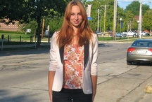 College Fashionista : University of Illinois, Fall 2012 / by Sarah Powers