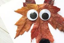 THEME: Fall / Thanksgiving Paper Crafts / Fall & Thanksgiving themed DIY decor, cards, layouts, kids crafts, and more