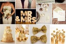Gold Wedding / by Events Beyond