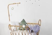 CUNAS y MOISES VINTAGE DE MIMBRE O CAÑA / Bassinet / Inspiración en la decoración infantil con aire retro-chic vintage!  Cunas de mimbre o caña de bambú (hechas de manera artesanal en España) en nuestra tienda online CoccoliHome.