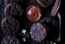 food | chocolate / dark moody chocolate recipes from cupcakes to cakes to candy