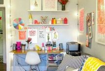 work space / by Nykhe Faries