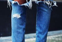 fashion | jeans looks / jeans and denim styles
