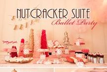 Nutcracker & Ballet Inspiration Parties! / I love ballet and dance themed parties. Yes I have done about 150+ in my day as a ballet teacher/event planner and even had one as a child. Love, love, love! / by Events Beyond