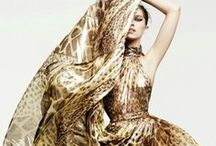 Glamorous and Exotic Occasion Wear / The exotic print trend. Occasion wear such as heels and silk gowns! www.freyarose.com