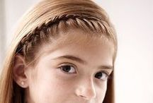 Little Millie Hairstyles / hairdos for long hair