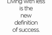 Intentional Living / A slower, simpler, more purposeful way to live