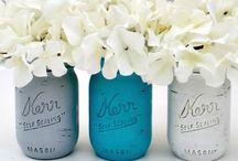 Mason Jars / Crafts/Ideas for Mason Jars