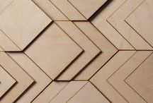 atelier sculptural timber / Atelier Anthony Roussel is a surface design studio specialising in sculptural layered wooden tiles and panels for interior and commercial application.  atelieranthonyroussel.tumblr.com