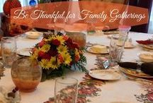 Thanksgiving and Fall / Fall home decor, Thanksgiving recipes, vintage tablescapes, and DIY ideas to do with children or to add fall color to your home.