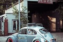 Classic VW Beetle / The need for this kind of car, and its functional objectives, was formulated by the leader of Nazi Germany, Adolf Hitler, who wanted a cheap, simple car to be mass-produced for his country's new road network.