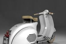 Classic Vespa Piaggio / Cold Italian Steel. Roars to life with a push start. Change the condensor.