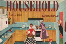 """Home - Kitchen / """"Someone's in the kitchen...."""" / by Ginger Brown"""