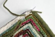 Rug Hooking Tips & Tutorials / by Rebekah Fowler