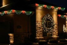 Holiday Home Lighting and Decor / Creative holiday home display concepts to keep your home looking great this during the holidays.