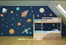 Vinyl Wall Art For Kids / Wall art for the kids rooms. From the nursery through teenagers.