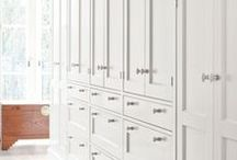 Wardrobes & Closets / Walk in robes and elegant dressing rooms.
