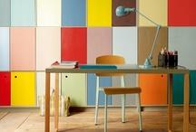 Escritórios / Escritórios e ideias de decoração e organização de escritórios.
