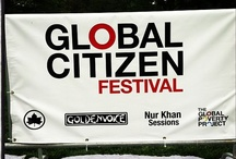 Global Festival: Global Poverty Project / 60,000 people coming together in song and a shared passion to feed the world's hungry.  / by MOMentumNation