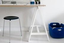 Mesa de cavalete ou porta / by dcoracao - decoração e DIY