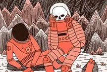MEET ME IN OUTER SPACE / by Liquid Bones