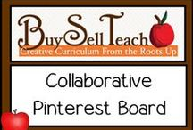 Buy Sell Teach Pinterest Board / A collaborative board for products, freebies, and blog posts for Buy Sell Teach Website. http://www.buysellteach.com/