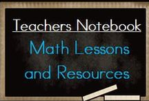 Teachers Notebook Math Lessons and Resources / A pinning board full of MATH lessons and resources from Teacher's Notebook. Please pin a Freebie along with a paid product. Freebies welcome anytime. If you would like to be added to this board, please email me at teacherstakeout@gmail.comIf you would like to be added to this board, please email me at teacherstakeout@gmail.com