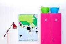 Cores ♥ Neon / Ambientes e objetos de cores neon // palavras-chave: faça você mesma, DIY, inspiração, decoração, pintura, cor, paleta, neon, fluo / by dcoracao - decoração e DIY