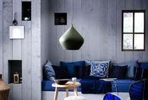 Cores ♥ Cinza / Ambientes na cor cinza // palavras-chave: faça você mesma, DIY, inspiração, decoração, pintura, cor, paleta, cinza / by dcoracao - decoração e DIY