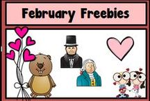 February Resources for the Classroom / A Pinterest Board full of fabulous freebies for the month of February!