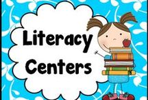 Literacy Centers and Games / Literacy Centers and Games for K-5th Grade Classrooms