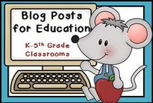 Blog Posts for Education / Do you have anything educational that you would like to share? When you blog about an idea, activity, lesson, tip, or something fun, pin it here! Share with other teachers, parents, and the educational world your knowledge about education. Please NO pins for stores. It is OK to have products in your blog posts. If you want your blog to draw in some new eyes or think you have something to share and want to be added to this board, just email me at teacherstakeout@gmail.com