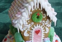 Gingerbread Houses⊱✿⊰❄ / by Susan Moore