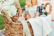 Eat | Picnic / Dreaming of sunny days at the coast with my picnic basket filled full of delicious food