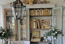 Bookcases~China Cabinets~Shelves ღ / by Susan Moore