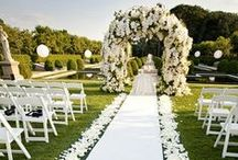 Wedding Aisle Decor / Inspirational Wedding Aisle Decor