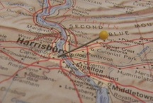 Maps and Globes / Maps are pinned as well as virtual tours. Take a look at your next destination before arriving. / by World Trade Center Harrisburg