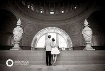 San Francisco City Hall / This board features weddings of all kinds at San Francisco City Hall. All photos © 2015 Arrowood Photography. http://www.arrowoodphotography.com