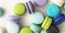 Macarons / Beautiful and stunning macaron recipes and ideas