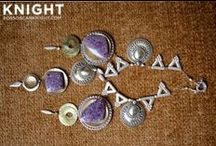 Jewelry / Brooches, earrings, necklaces and bracelets du jour.