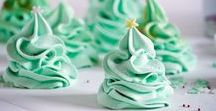 Meringues / Light • Pillowy • Meringue Kisses • Pavlova • Desserts • Recipes