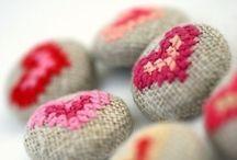 Beads and Cross Stitch