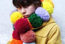 Pom Pom / Garlands, decorations, pom-poms. How-to, inspiration, photographs.